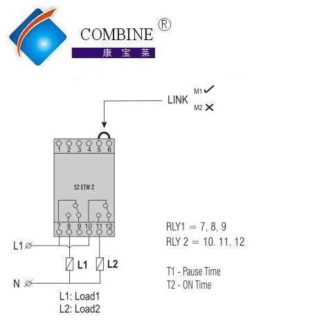 s2etm2多功能循环时间继电器