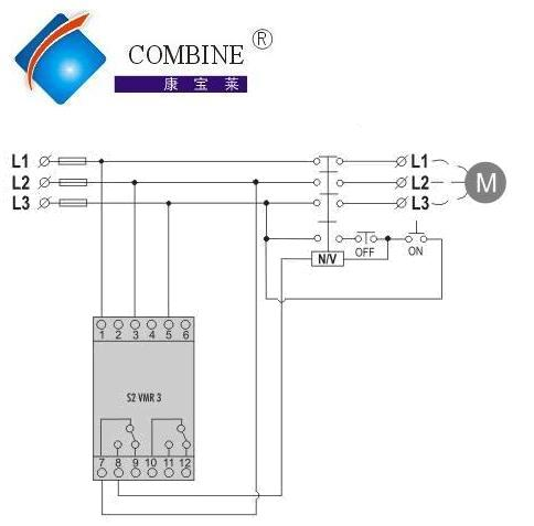 supply the s2vmr3 multi function phase failure relays to you contact us for the s2vmr3
